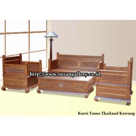 Kursi Tamu Thailand Kawung