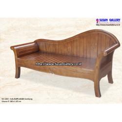 Sofa Elips Louis Gambang