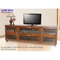 Buffet TV Jati Hilderia