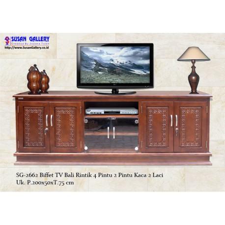 Buffet TV Jati Bali Rintik