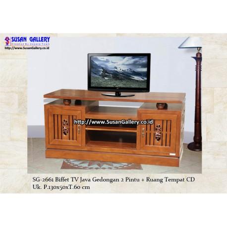 Buffet TV Jati Java Gedongan