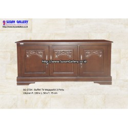 Buffet TV Jati Majapahit