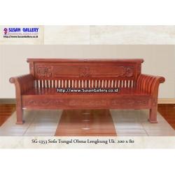 Sofa Jati Obama Lengkung