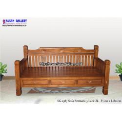 Sofa Jati Permata