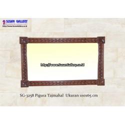 Pigura Jati Tajmahal
