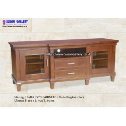 Buffet TV Jati Clarista