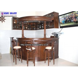 Mini Bar + Kitchen Set Jati