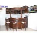 Mini Bar + Kitchen Set Jati