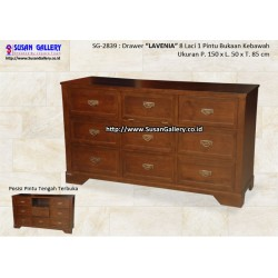 Drawer Jati Lavenia