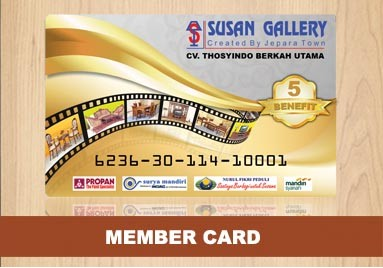 Member Card Mebel Jati