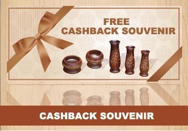 Cashback Souvenir Jati